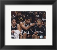 Framed 2005 - Manu Ginobili / Tim Duncan / Tony Parker