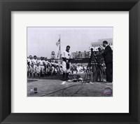 Framed Lou Gehrig - Farewell (Horizontal)
