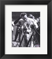 Framed Lou Gehrig - Farewell #2 (Vertical)