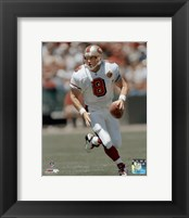 Framed Steve Young - Rolling Out