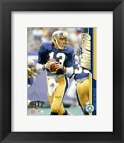 Framed Dan Marino / University of Pittsburgh #2