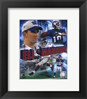 Framed Eli Manning - '05 Portrait Plus