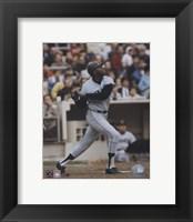 Framed Willie McCovey - Batting Action