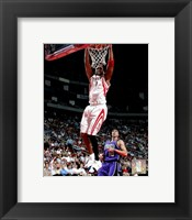 Framed Tracy McGrady  - '05 / '06 Action