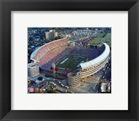 Framed Bryant Denny Stadium - (University of Albama)
