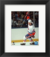 Framed Mike Bossy - Celebration