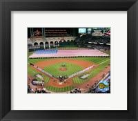 Framed Minutre Maid Park - '05 W.S. Game 3 National Anthem