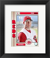 Framed Ryan Freel - 2006 Studio Plus