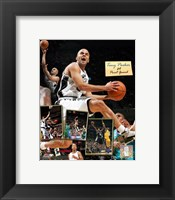 Framed Tony Parker - 2006 Scrapbook
