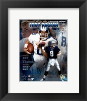Framed Troy Aikman - HOF Legends #2