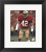 Framed Ronnie Lott - Action