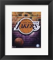 Framed Lakers - 2006 Logo