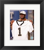 Framed Reggie Bush - 2006 NFL Draft Day