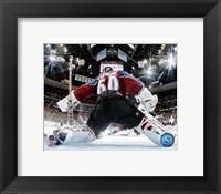 Framed Jose Theodore - '05 / '06 Playoffs (Net Cram)