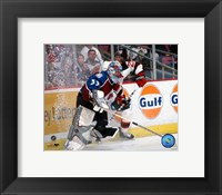 Framed Patrick Roy - Avalanche / Action