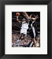 Framed Josh Howard - '06 Playoff Action