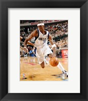 Framed Jason Terry - 2006 Playoff Action