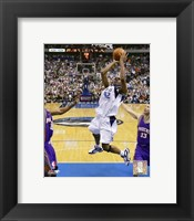 Framed Jerry Stackhouse - 2006 Playoff Action