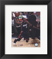 Framed Dwyane Wade - 2006  Finals / Game 2 Dunk (#13)
