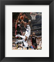 Framed Jason Terry - 2006 Finals / Game 2 Action (#12)