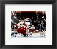 Framed Ryan Smyth - 2006 Stanley Cup Finals / Game 6 Celebrates Goal (#31)