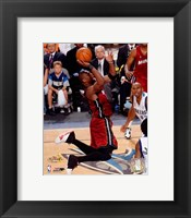 Framed Dwyane Wade - 2006 Finals / Game 6 Action (#51)
