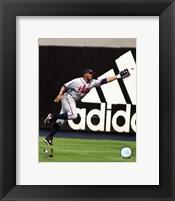 Framed Andruw Jones - 2006 Fielding Action