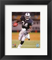 Framed Lamont Jordan - '06 / '07 Action