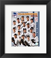 Framed 2006 - Yankees East Division Champs Team Composite
