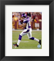 Framed Jermaine Wiggins - '06 / '07 Action