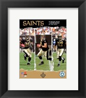 "Framed Saints - '06 / '07 ""Big 3"""