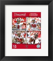 "Framed 2006 - Buccaneers ""Big4"" Composite"