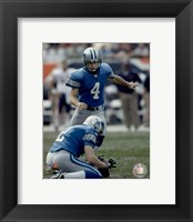 Framed Jason Hanson - '06 / '07 Action
