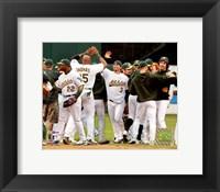 Framed Athletics - 2006 ALDS / Game 3 Celebration