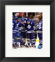 Framed Mats Sundin - 10/14/06  500th Goal Ceremony