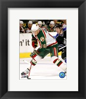 Framed Marian Gaborik - '06 / '07 Away Action