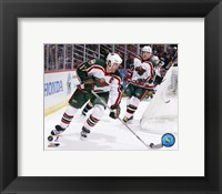 Framed Brian Rolston - '06 / '07 Away Action