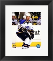 Framed Bill Guerin - '06 / '07 Away Action