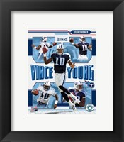 Framed Vince Young - 2006 Portrait Plus