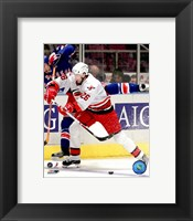 Framed Erik Cole - '06 / '07 Away Action
