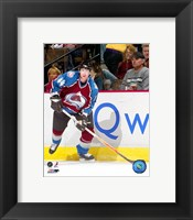 Framed Jordan Leopold - '06 / '07 Home Action