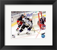 Framed Martin St. Louis - '06 / '07 Away Action