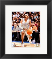Framed Allen Iverson - '06 / '07 on the court