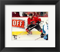 Framed Jarome Iginla - '06 / '07 Home Action
