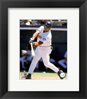 Framed Tony Gwynn - 1999 Batting Action