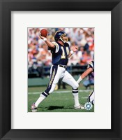 Framed Dan Fouts - 1987 Action