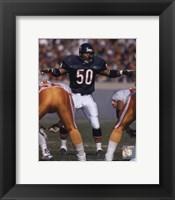 Framed Mike Singletary - 1992 Action