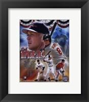 Framed Cal Ripken - Legends Composite
