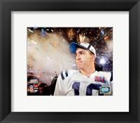 Framed Peyton Manning SuperBowl XLI Fireworks (#23)