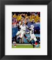 Framed Bob Sanders Super Bowl XLI Action (#16)